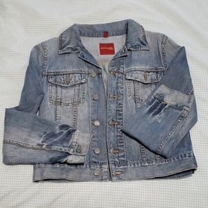 Express medium wash denim Jacket
